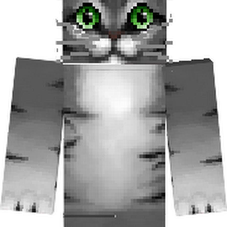 ник головы кота в майнкрафт #4