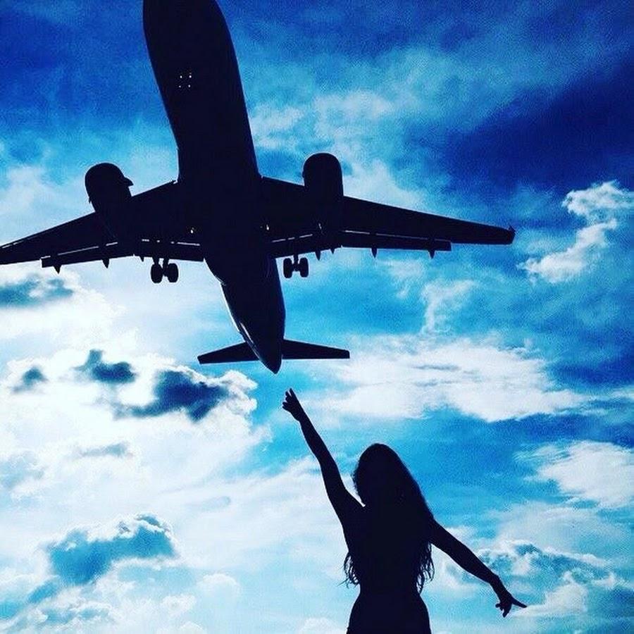 Картинки самолеты девушка