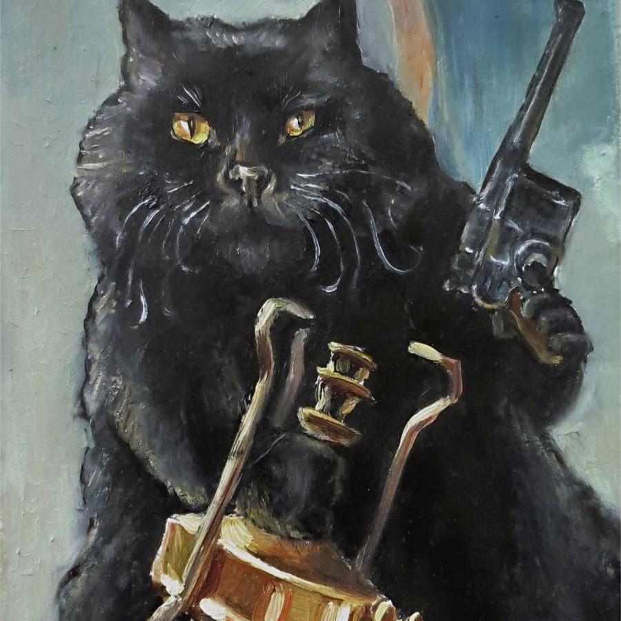 Картинка кот бегемот починяю примус