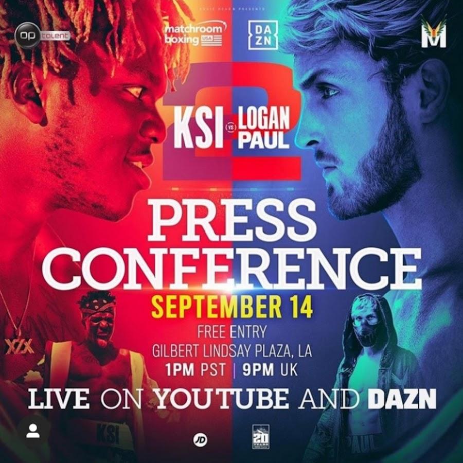 Ksi Vs Logan Paul 2 Popular You Tube Personalities Boxing: KSI Vd LOGAN PAUL