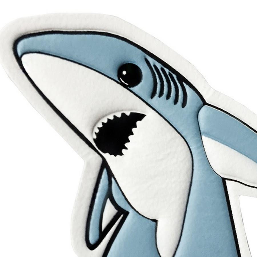 Акула икеа рисунок