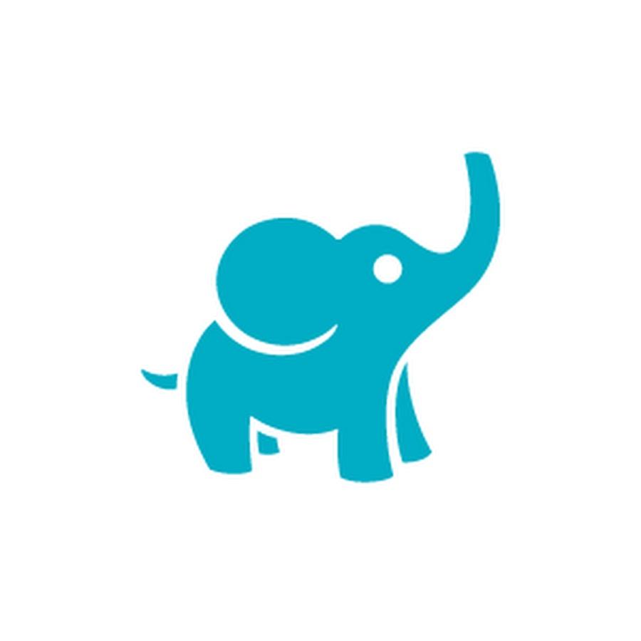 Слоники картинки нарисованные на логотип