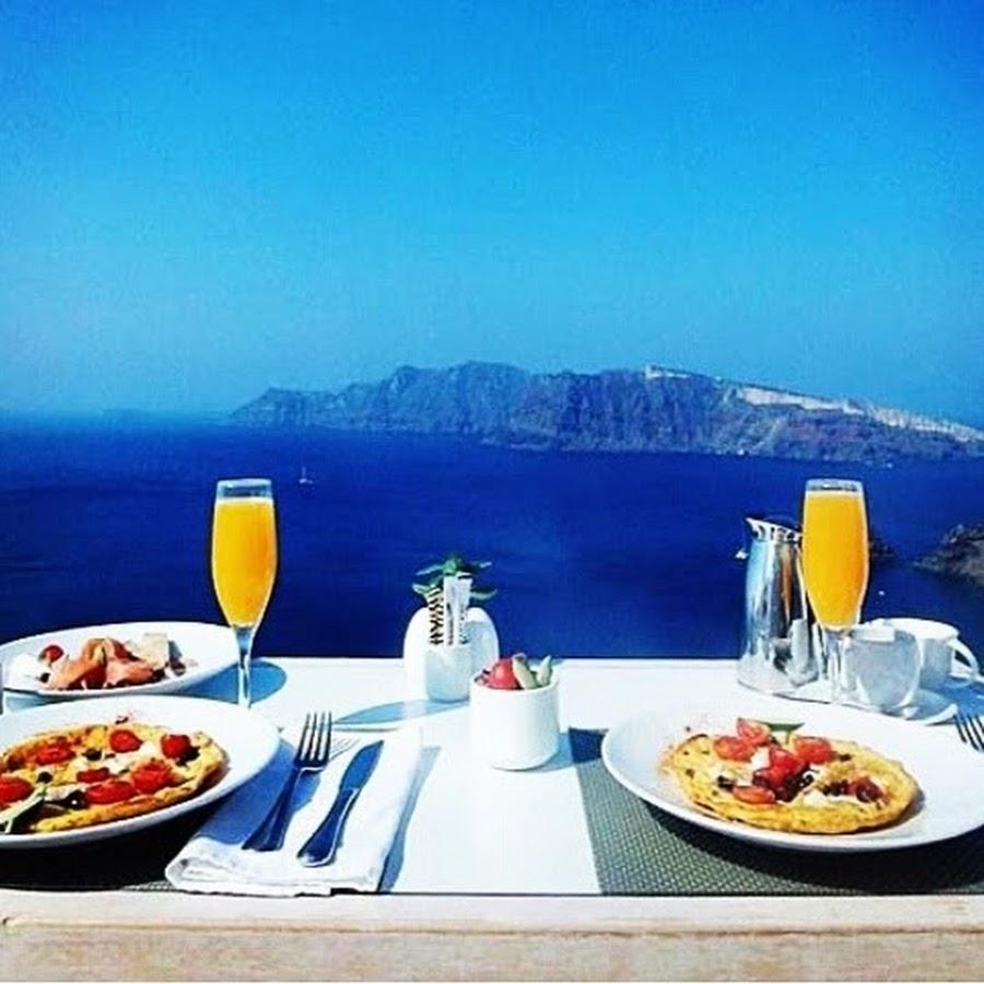 Картинки греции море завтрак