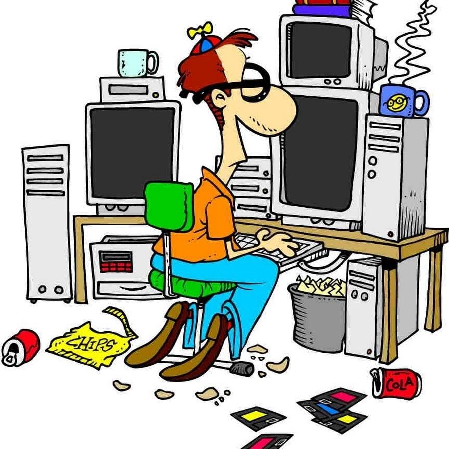 Компьютерщики смешные картинки