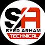 Syed Arham Technical