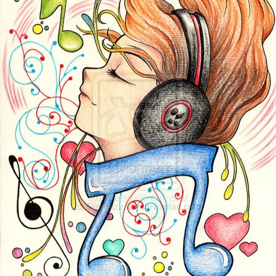 Я рисую музыку рисунки
