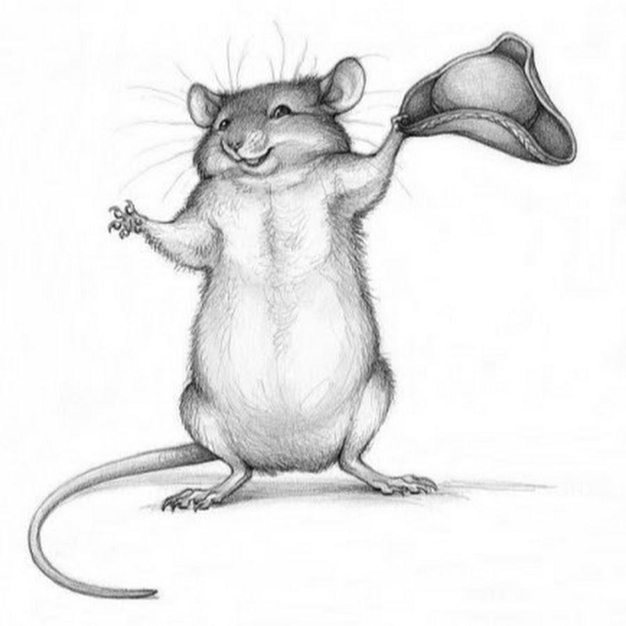 картинки с мышью прикольные черно-белые того чтобы