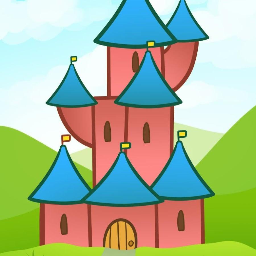 картинка по рисованию сказочный дворец старинный