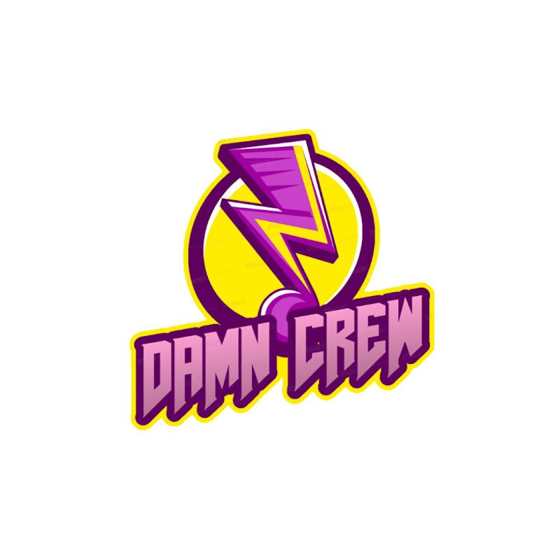 Logo for DAMN Crew