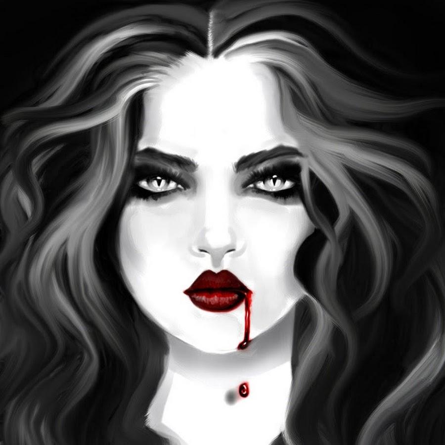 Картинки вампиров нарисованные