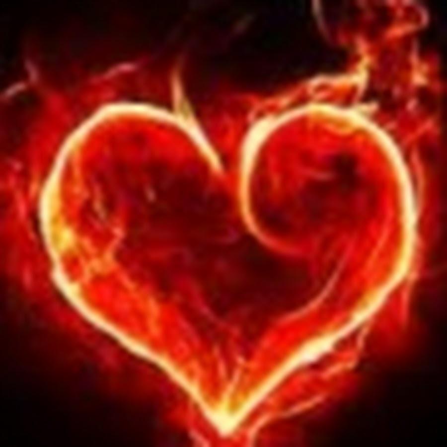 красиво гифка сердечко в огне временем