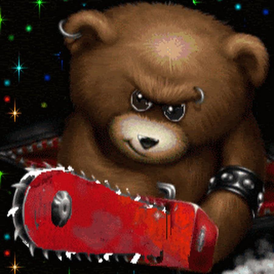 гиф с медведями природа, отсутствие