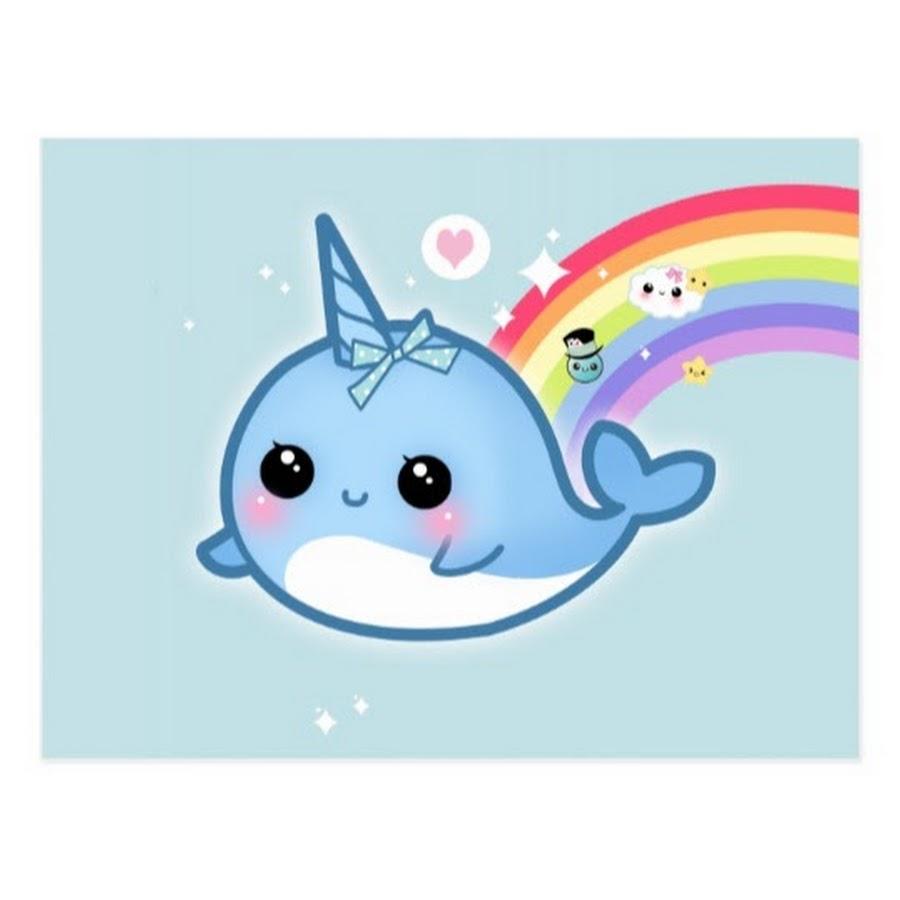 Дельфин единорог картинка