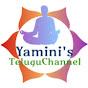 Yamini's Telugu channel