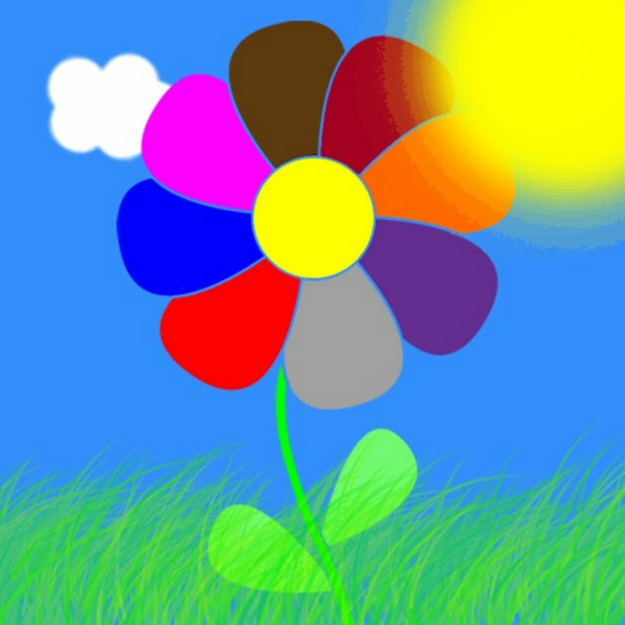 Картинка цветик семицветик широкоформатная