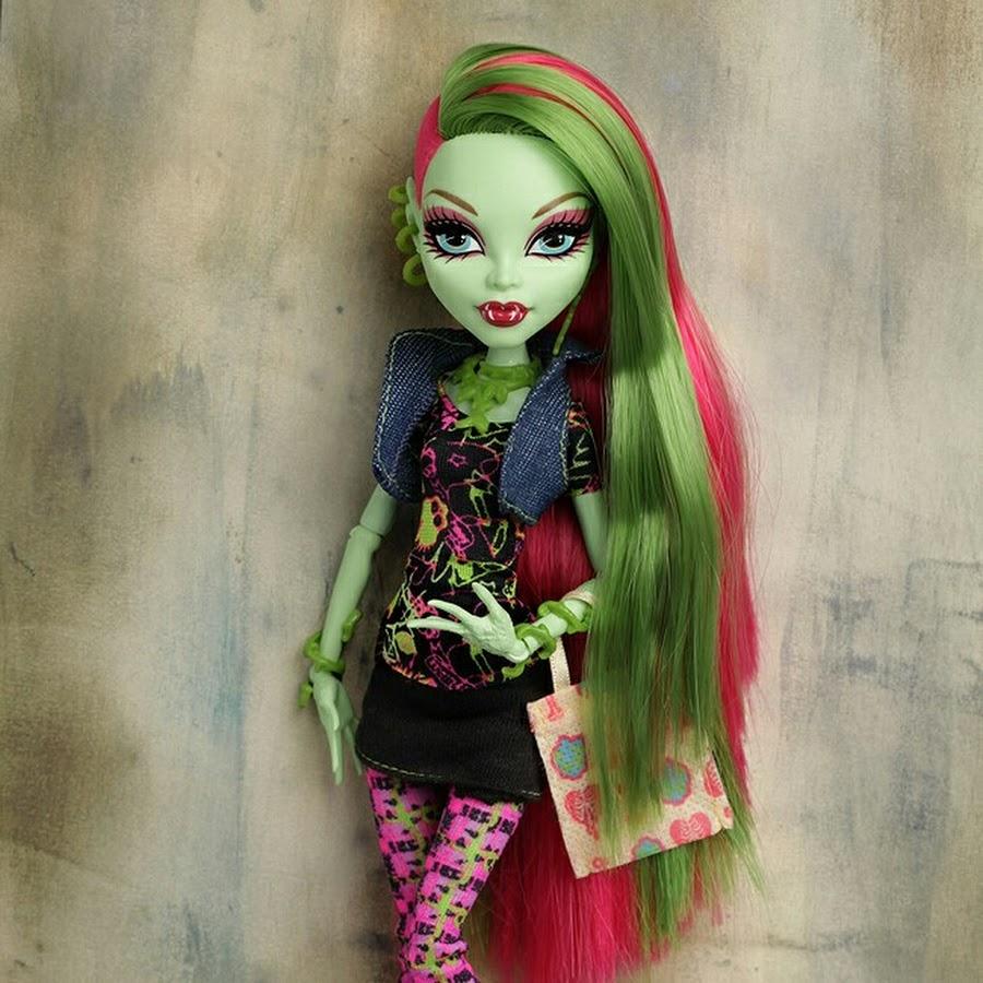 Картинки кукол монстер хай венера макфлайтрап