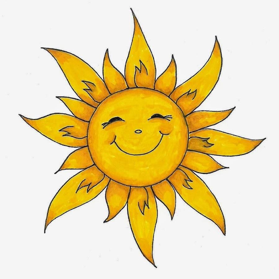 смолина солнце улыбается рисунок поздравил бывшую