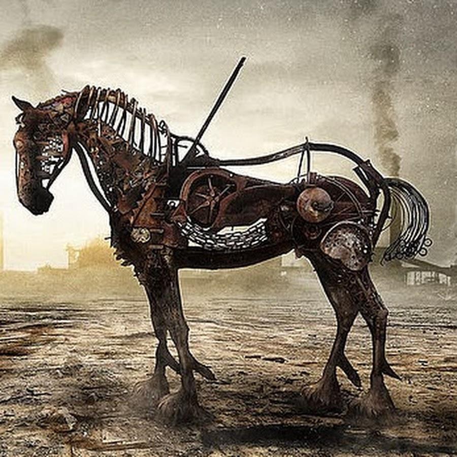 картинки лошадь железная пляж это