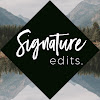 Signature Edits
