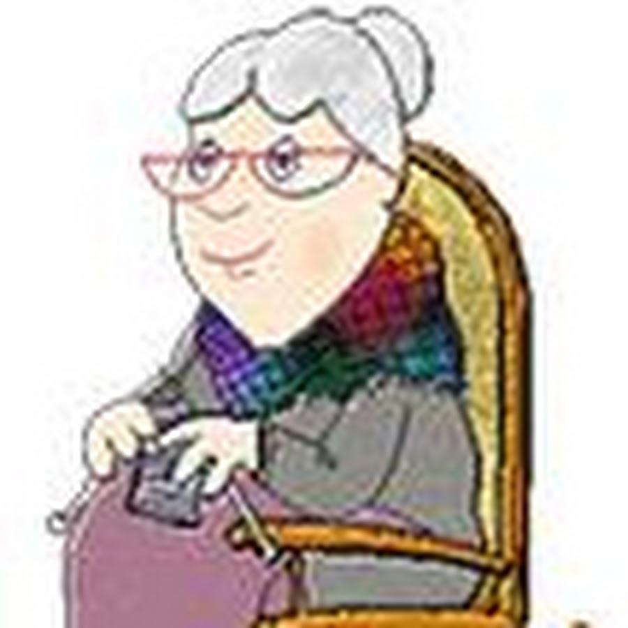 Живые картинки бабушка