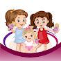 Girls Play Dolls