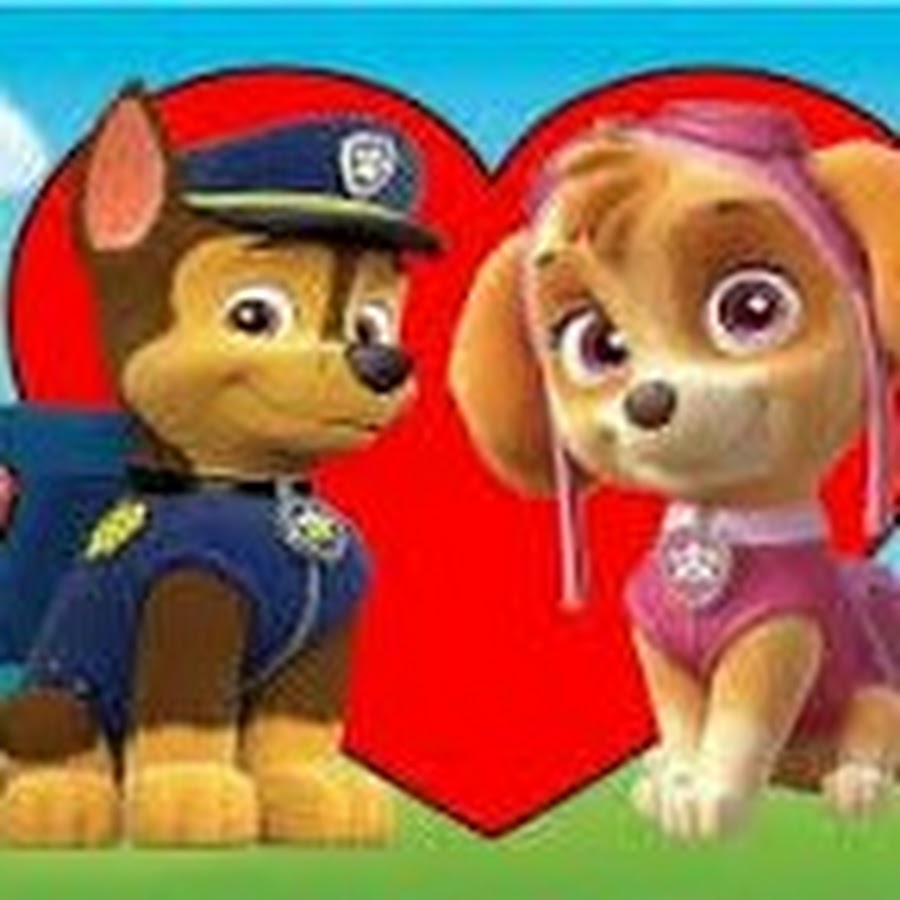 sky from the paw patrol  youtube