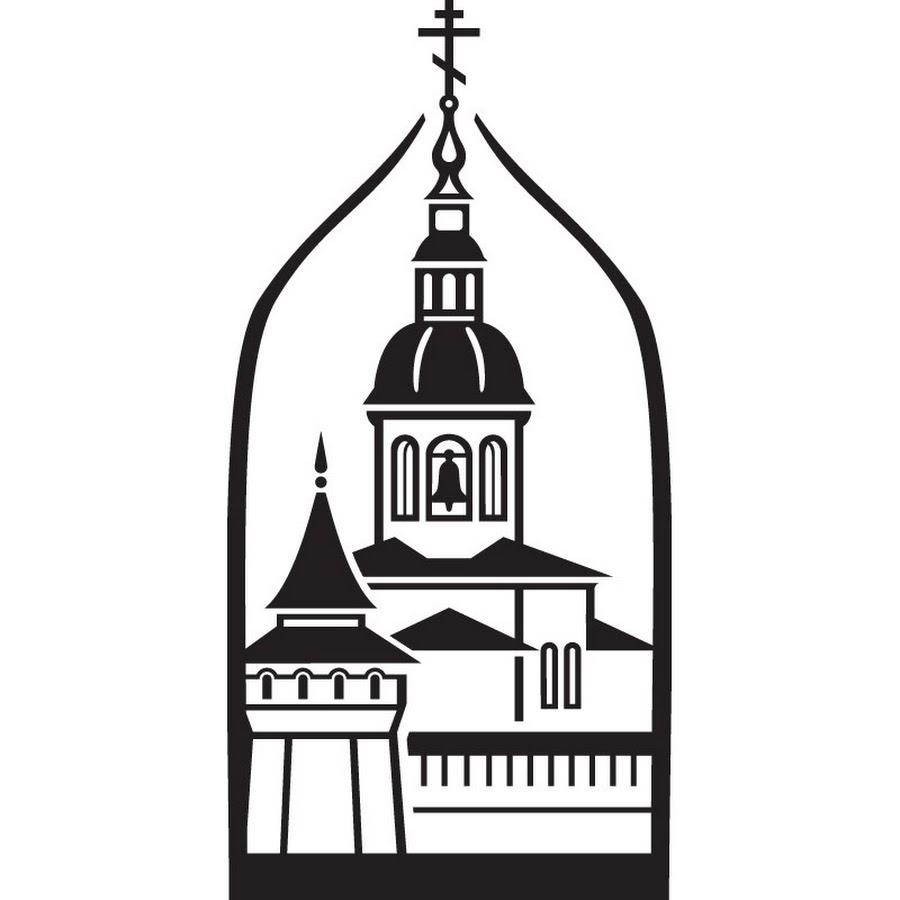 Картинка контур церкви