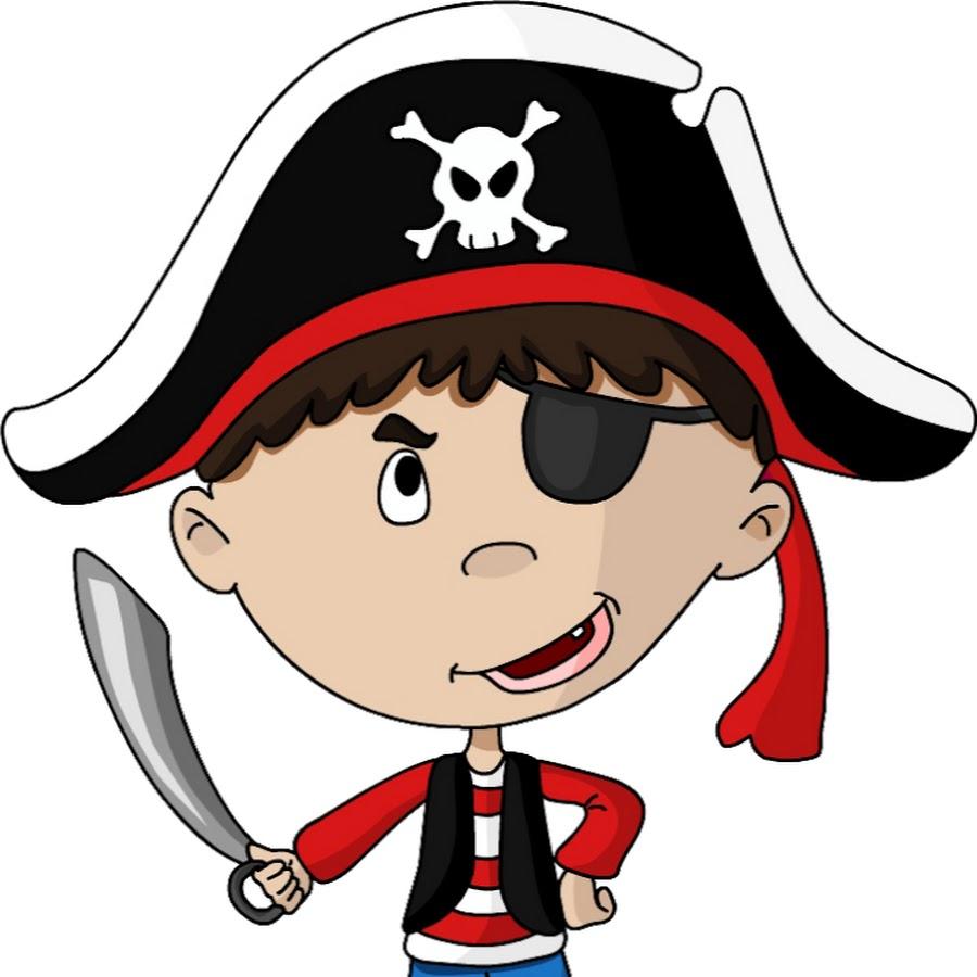 Пират мультяшная картинки