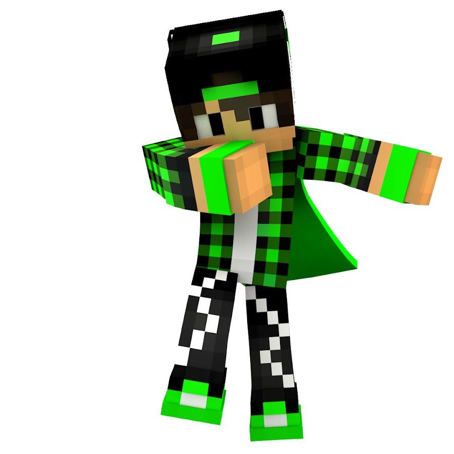 green gue майнкрафт скины #5