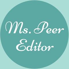 Ms. Peer Editor