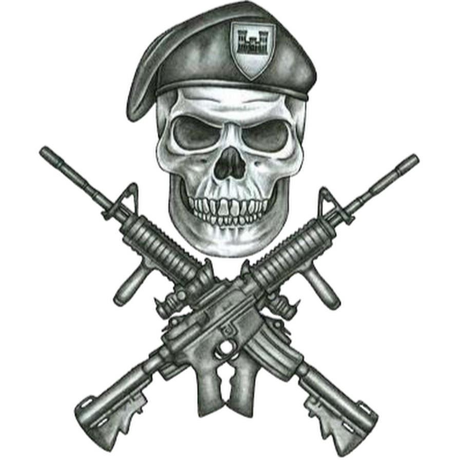 конечно картинки солдата с черепом должны правильно