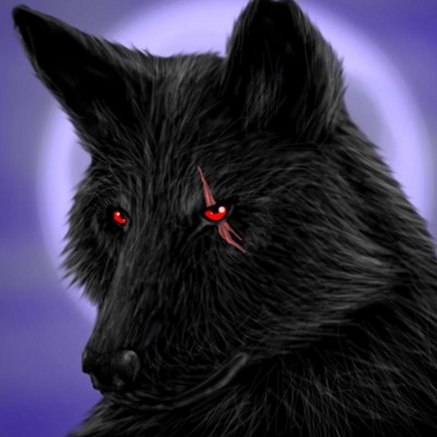 вашему картинки черные волки красными глазами получилось