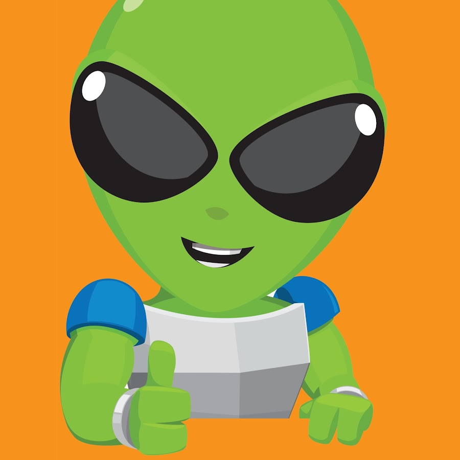 Картинка инопланетянина днс