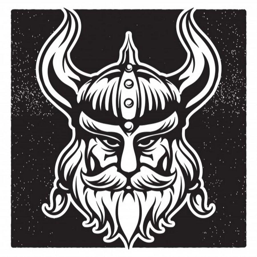 помощью картинки с символикой викингов разные способы раскладки