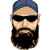 The Wooded Beardsman