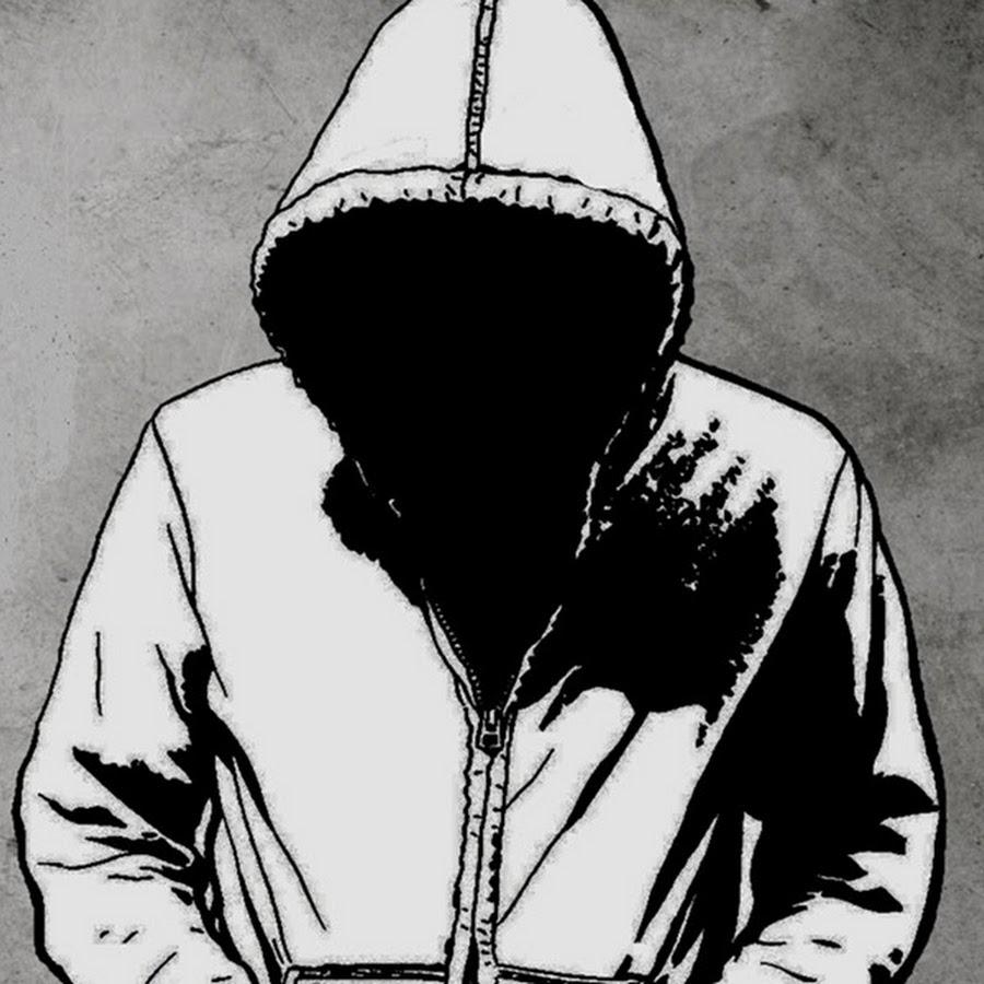 Нарисованный человек в капюшоне картинки