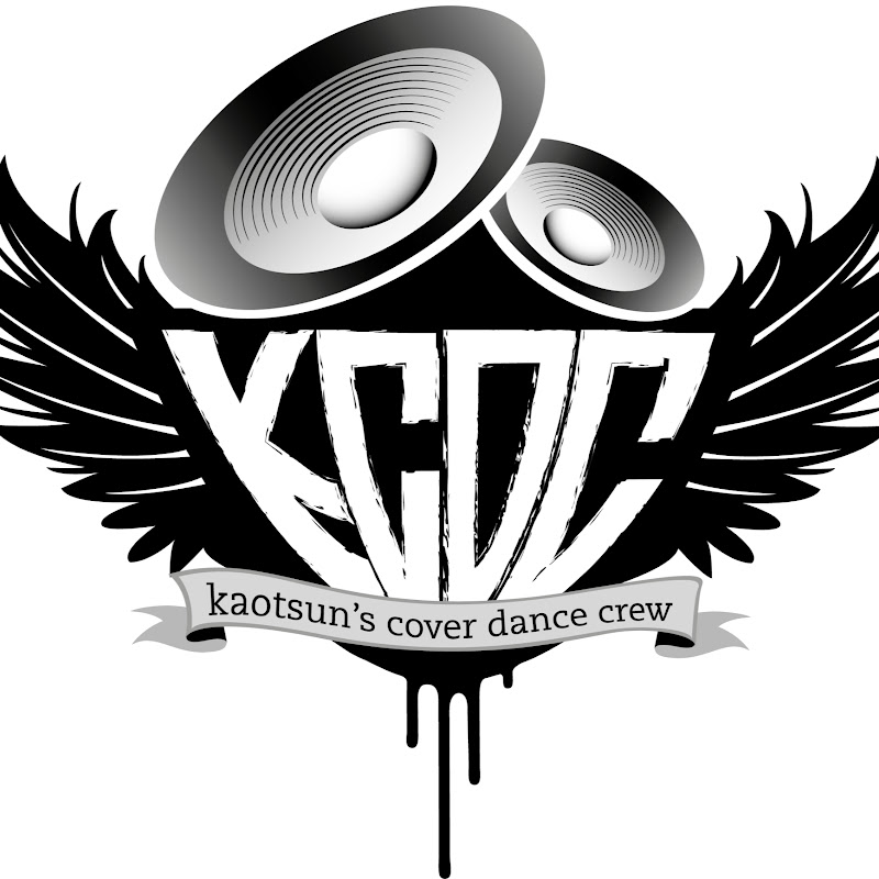 Logo for Kaotsun's Cover Dance Crew (KCDC)