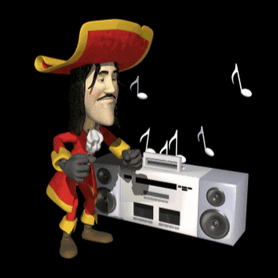 Танец пирата гиф