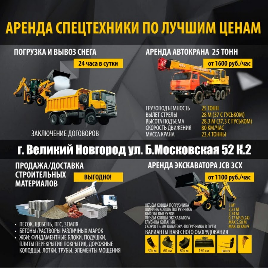 Визитки аренда спецтехники фото спецтехника бу в пермском крае