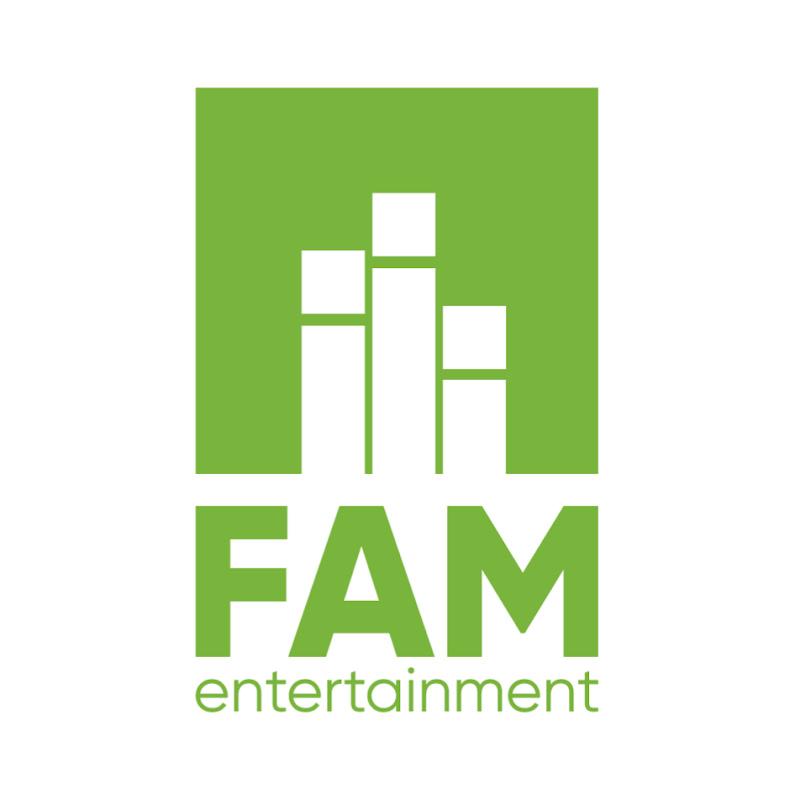 Logo for FAM ENTERTAINMENT