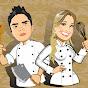 Eu e Ela na cozinha