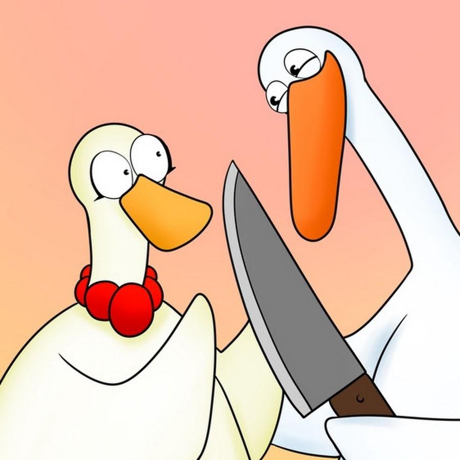 Картинки смешного гуся