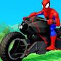 Spiderman Cars Lern Kinderfilme - Kinder Kanal