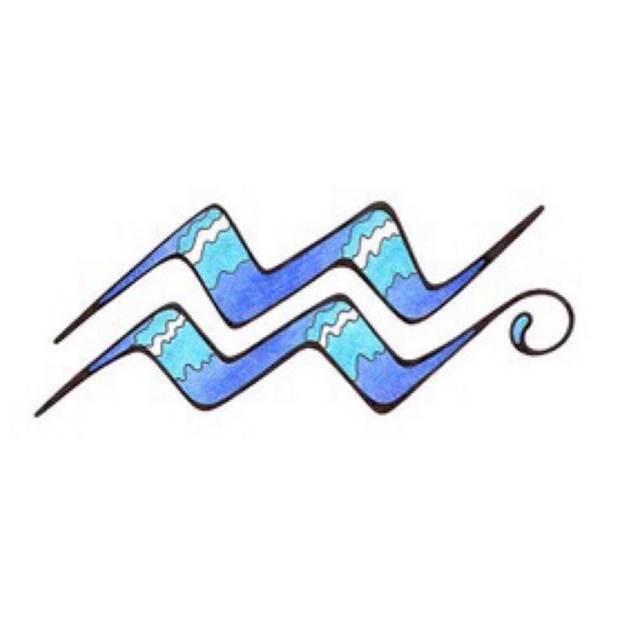номер картинки татуировок знак водолея с абстракции увековечение