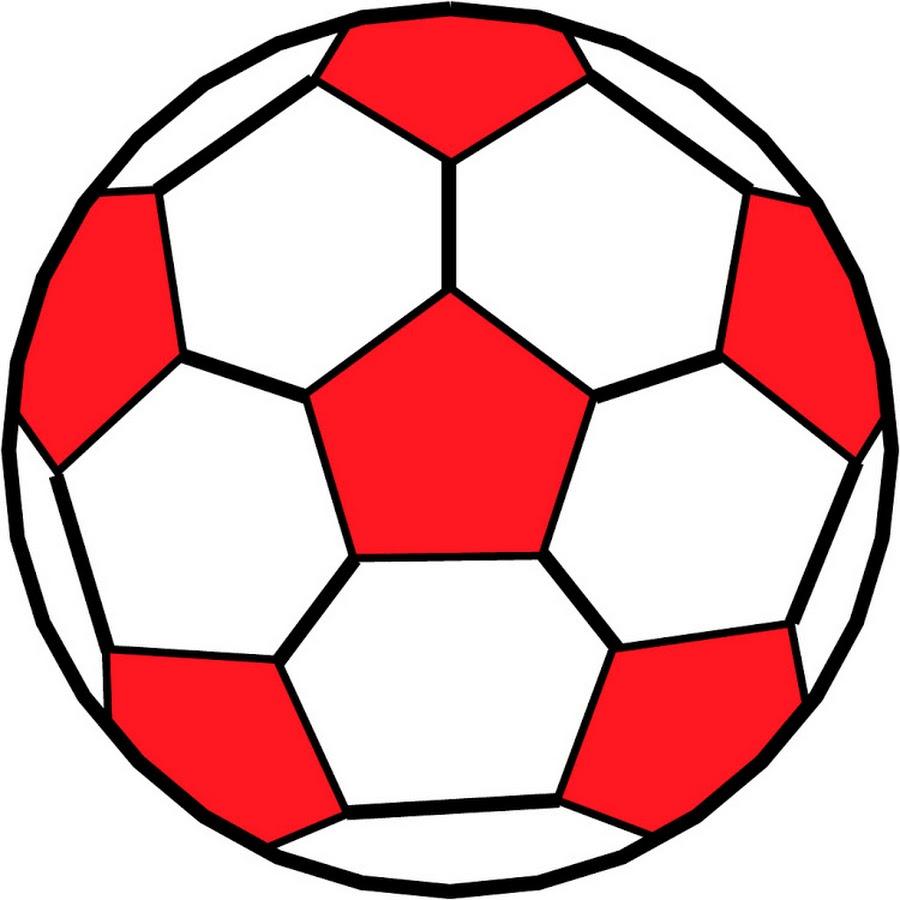 Рисованная картинка мяча
