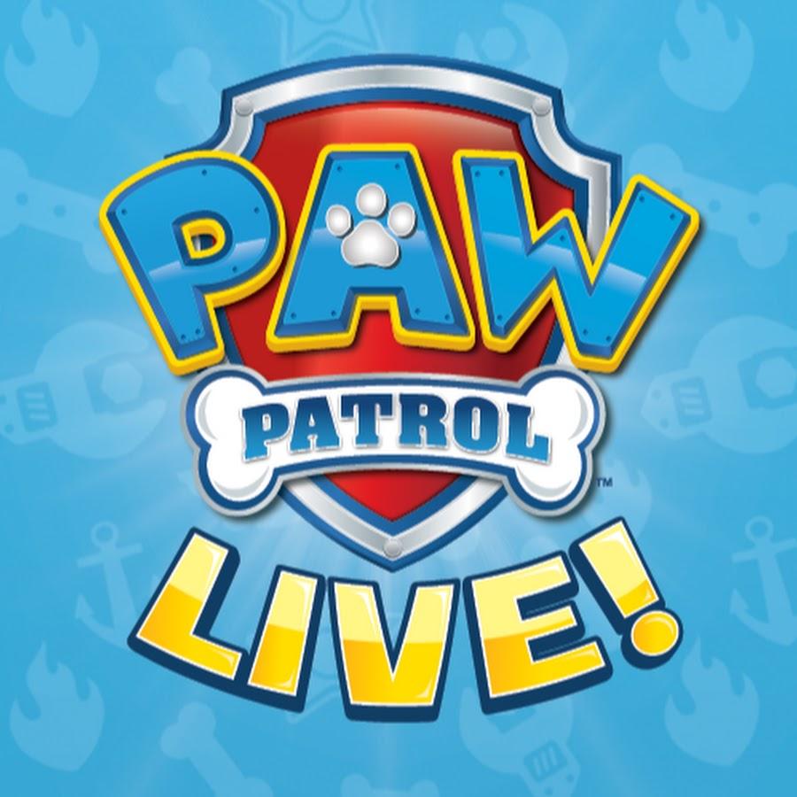 paw patrol live  youtube