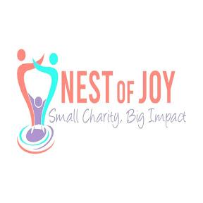 Nest of joy, logo, volunteering project