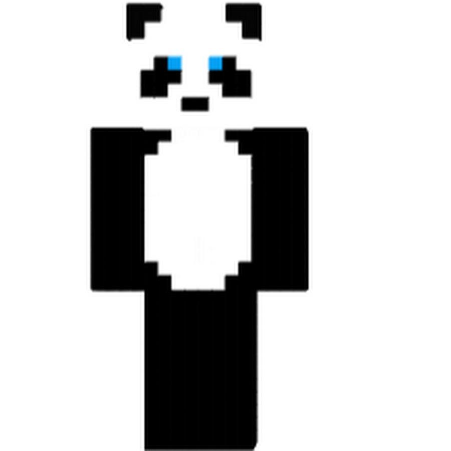 скин панда на майнкрафт #7
