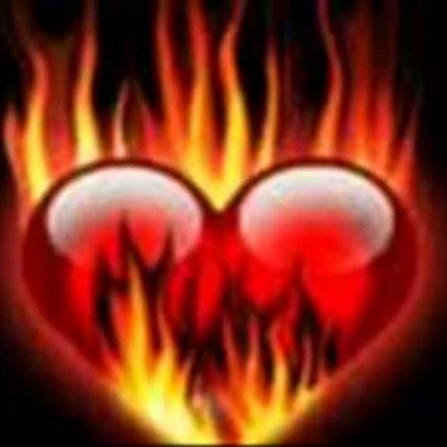 гифка сердечко в огне последние