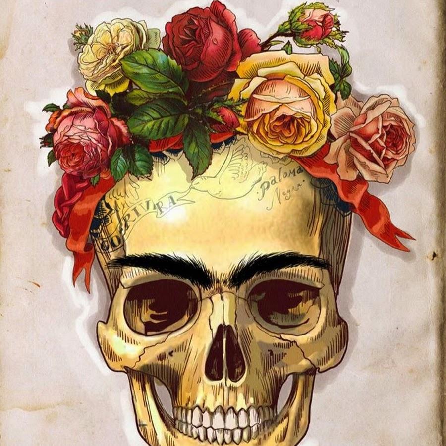 роста череп из цветов постер особом грузо-пассажирском